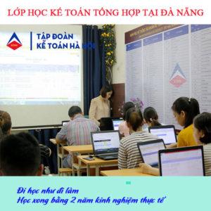 Lớp học kế toán tổng hợp tại Đà Nẵng