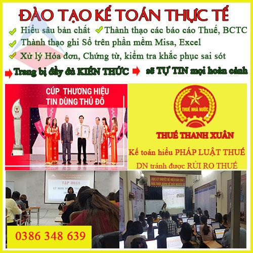 trung tâm đào tạo kế toán thực tế tại Bắc Ninh