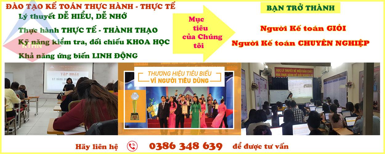 Lớp học kế toán tổng hợp dành cho người mới bắt đầu tại Hà Nội