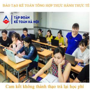 Đào tạo kế toán tổng hợp thực hành thực tế