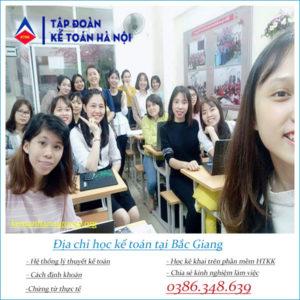 Dia Chi Hoc Ke Toan Tai Bac Giang