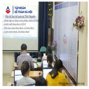 Dia Chi Hoc Ke Toan Tai Thai Nguyen