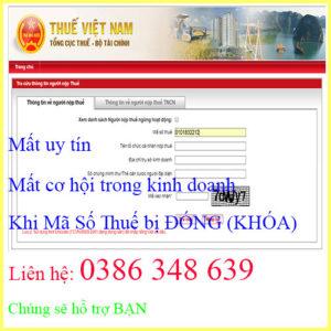 Dich Vu Mo Lai Ma So Thue