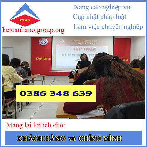 Dịch vụ quyết toán thuế cuối năm tại Hà Đông Hà Nội