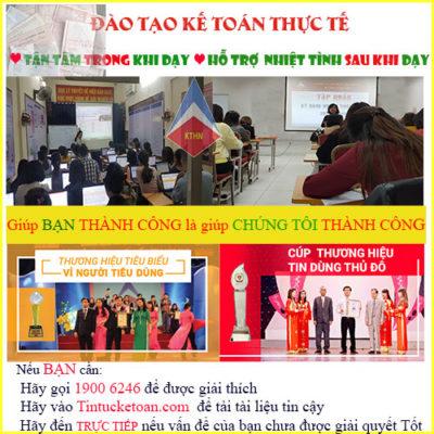 Trung Tâm Dạy Kế Toán Tại Ba Đình Hà Nội Chuyên Nghiệp Uy Tín