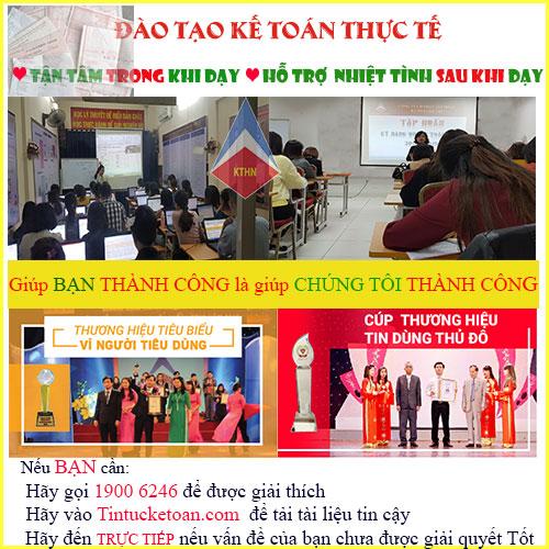Địa chỉ học Kế toán Thuế tại quận Tân Bình tp HCM
