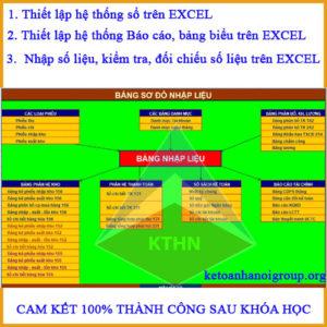 Địa chỉ học kế toán trên phần mềm Excel tốt nhất