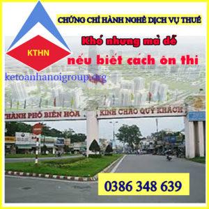 Lop On Thi Chung Chỉ Dai Ly Thue Tai Bien Hoa