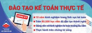 Địa chỉ học kế toán thực tế tại quận 3 tpHCM