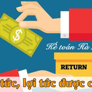 Loi Nhuan Sau Thue Co Phai Tinh Thue Tncn Khong