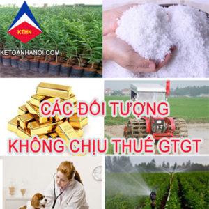 Doi Tuong Khong Chiu Thue GTGT Moi Nhat