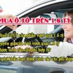 Khấu Trừ Thuế GTGT đầu Vào Khi Mua ô Tô