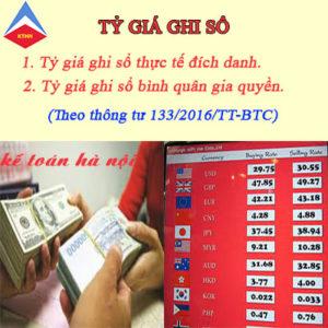 Ty Gia Ghi So Ke Toan Theo Thong Tu 133