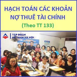 Cách Hạch Toán Các Khoản Nợ Thuê Tài Chính Theo TT133