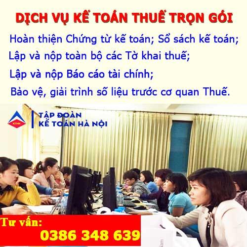 Dịch vụ kế toán thuế trọn gói tại Tiên Lữ