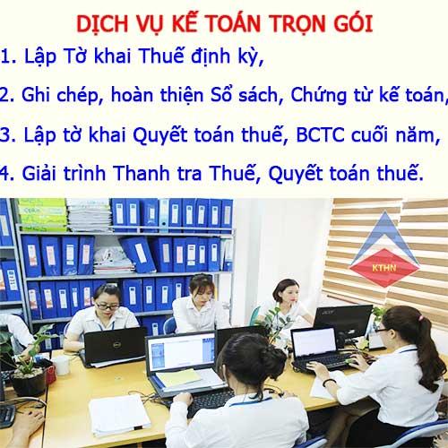 Dịch vụ kế toán thuế trọn gói tại Quế Võ Bắc Ninh Giá rẻ Uy tín