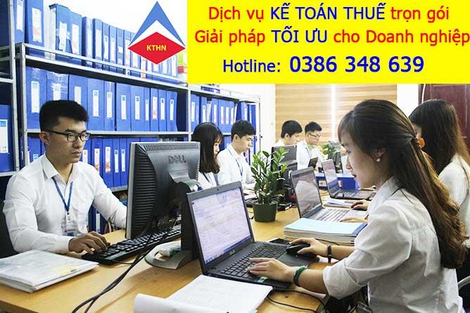 Kế toán thuế tại Ba Đình Hà Nội