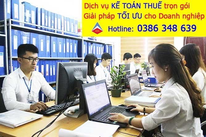 dịch vụ kế toán thuế trọn gói chuyên nghiệp