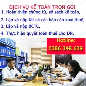 Dich Vu Ke Toan Thue Tron Goi Tai Ninh Binh