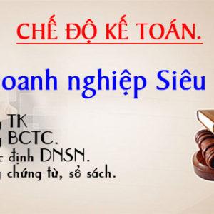 Che Do Ke Toan Doi Voi Soanh Nghiep Sieu Nho
