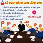 Lớp Kế Toán Dành Cho Giám đốc Tại Hà Đông Hà Nội Chất Lượng Uy Tín