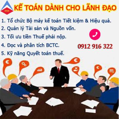 Lớp Kế Toán Dành Cho Giám đốc Tại Bắc Từ Liêm Hà Nội Chất Lượng Uy Tín