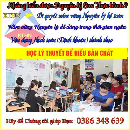 Lớp học kế toán tổng hợp tại Từ Liêm
