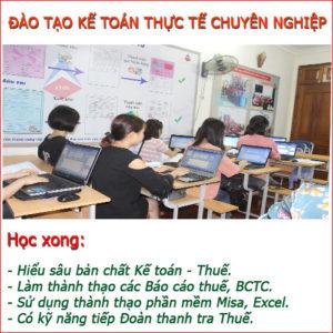 Lop Hoc Ke Toan Thuc Hanh Tot Nhat Tai Thanh Xuan Ha Noi