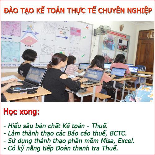 Trung tâm đào tạo kế toán thực tế tại Tp Hải Phòng