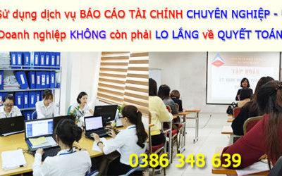 Công Ty Làm Dịch Vụ Báo Cáo Tài Chính Tại Văn Giang, Hưng Yên