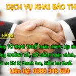 Dịch Vụ Kế Toán Thuế Tại Dương Kinh Hải Phòng CHUYÊN NGHIỆP