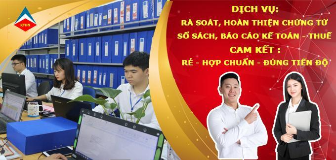 Dịch vụ làm sổ sách kế toán tại Tp HCM