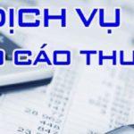 Dịch Vụ Làm Báo Cáo Thuế Tại Quận Hồng Bàng Hải Phòng