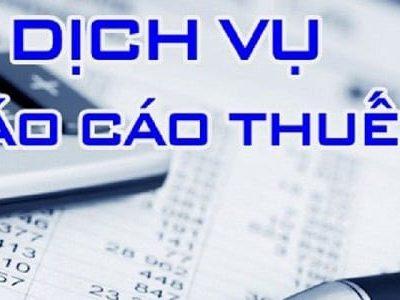 Dịch Vụ Làm Báo Cáo Thuế Tại Quận Lê Chân Hải Phòng