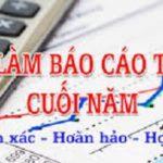 Thuê Dịch Vụ Báo Cáo Tài Chính Cuối Năm Tại TP HCM