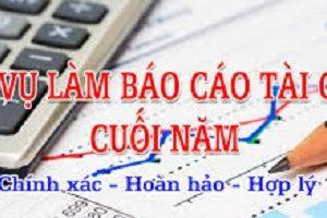 Dich Vu Bao Cao Tai Chinh Cuoi Nam