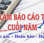 Thuê Dịch Vụ Làm Báo Cáo Tài Chính Cuối Năm Tại Hà Nội