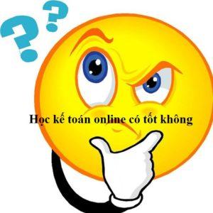 Hoc Ke Toan Online Co Tot Khong