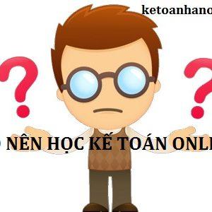 Co Nen Hoc Ke Toan Online