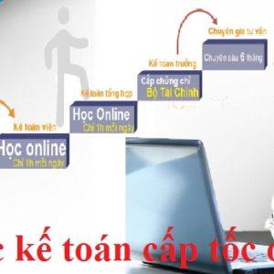 Hoc Ke Toan Cap Toc Online
