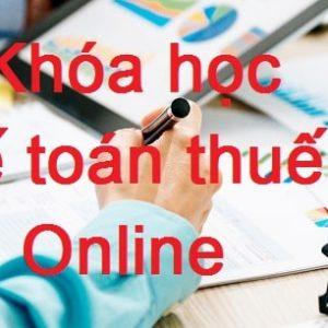 Khoa Hoc Ke Toan Thue Online