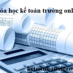 Khoa Hoc Ke Toan Truong Online