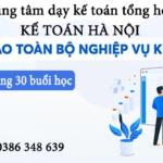 Khóa Học Kế Toán Tổng Hợp Tại Bắc Ninh Giá Rẻ Uy Tín