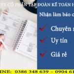 Nhận Làm Báo Cáo Thuế Tại Đống Đa GIÁ RẺ, CHUYÊN NGHIỆP