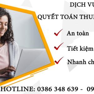 Dich Vu Quyet Toan Thue To Nhat Tai Hoan Kiem