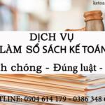 Dịch Vụ Làm Sổ Sách Kế Toán Tại Hạp Lĩnh Bắc Ninh Chuyên Nghiệp Uy Tín
