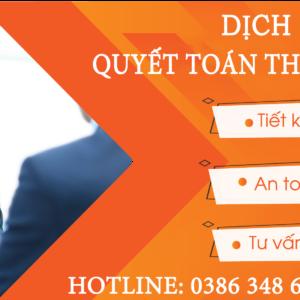Dich Vu Quyet Toan Thue Cuoi Nam Tai Yen Phong Bac Ninh