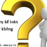 Thuê Kế Toán Dịch Vụ Có Cần Thiết đối Với Doanh Nghiệp Hay Không ?