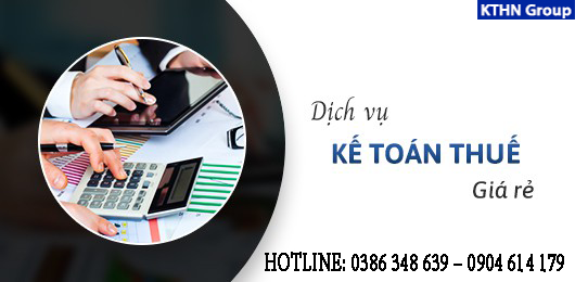 Dịch vụ kế toán thuế tạiGia Lâm
