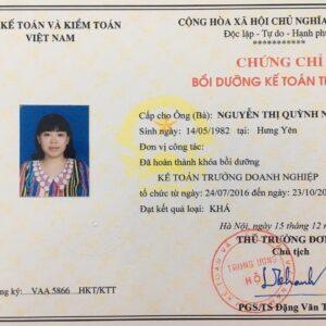 Trung Tam Dao Tao Ke Toan Truong Tai Vinh Phuc